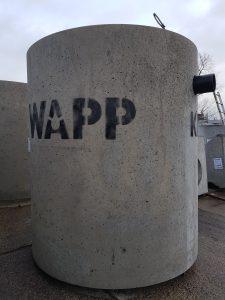 WAPP WMO iszap- és olajleválasztó vb. tartály